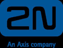 Het logo van 2N