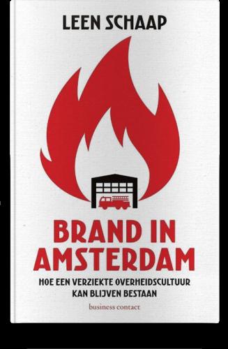 Brand in Amsterdam Leen Schaap