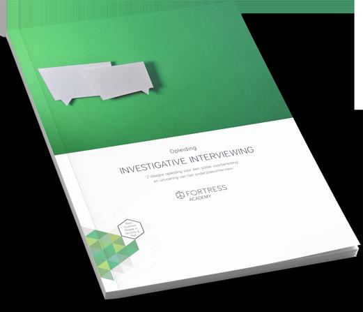 Brochure opleiding Investigative Interviewing download