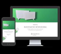 Investigative Interviewing online opleiding bij Fortress
