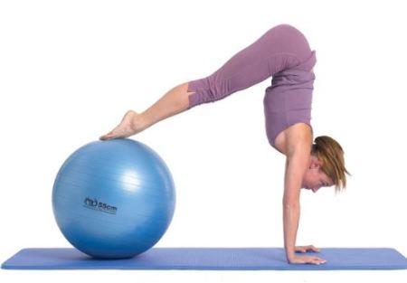 pilates oefeningen voor thuis met attributen of props