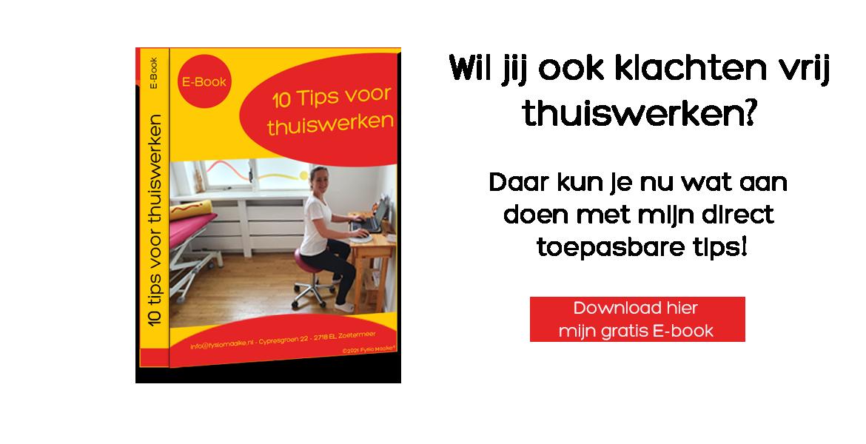 E-book 10 tips voor thuiswerken