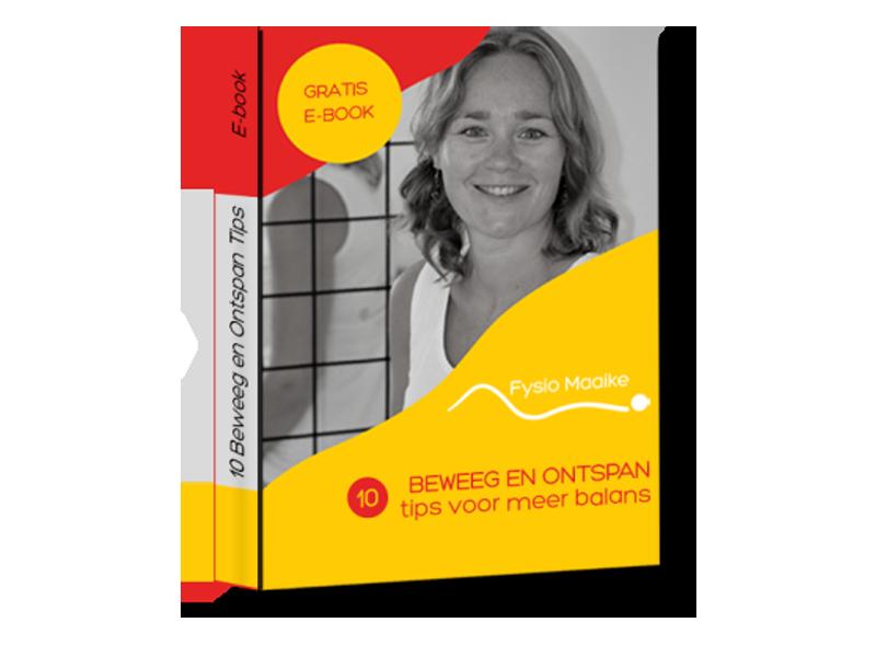 Gratis E-book 10 tips voor meer balans