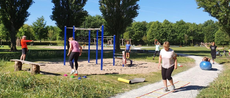 Groepstraining in Zoetermeer, Beweeg en Ontspan Outdoor