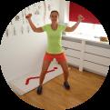 Fysio Maaike geeft online training