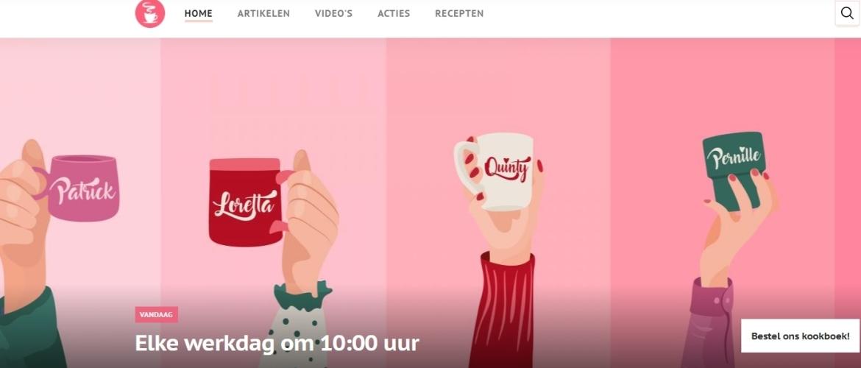 Fysio Maaike bij Koffietijd op RTL 4 a.s. dinsdag 12 oktober