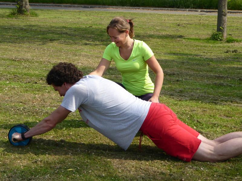 Fysio Maaike geeft Personal Training 1 op 1