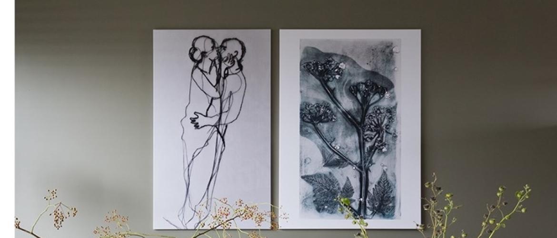 Botanisch print in VT Wonen 'Weer verliefd op je huis'