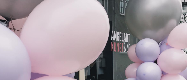 Galerie winkel Hattem- Angelart Kunst&Zo, begin van een mooie reis