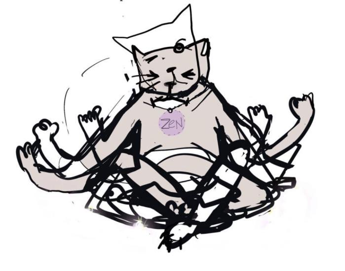 Willeke Trooster katten print