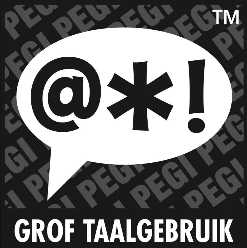 PEGI Grof taalgebruik
