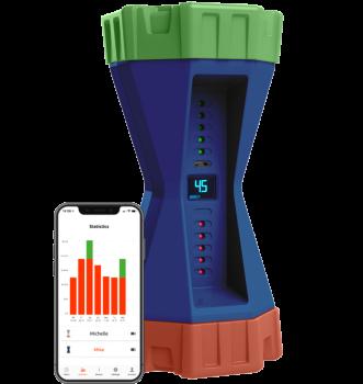 Gametimer Blauw met app