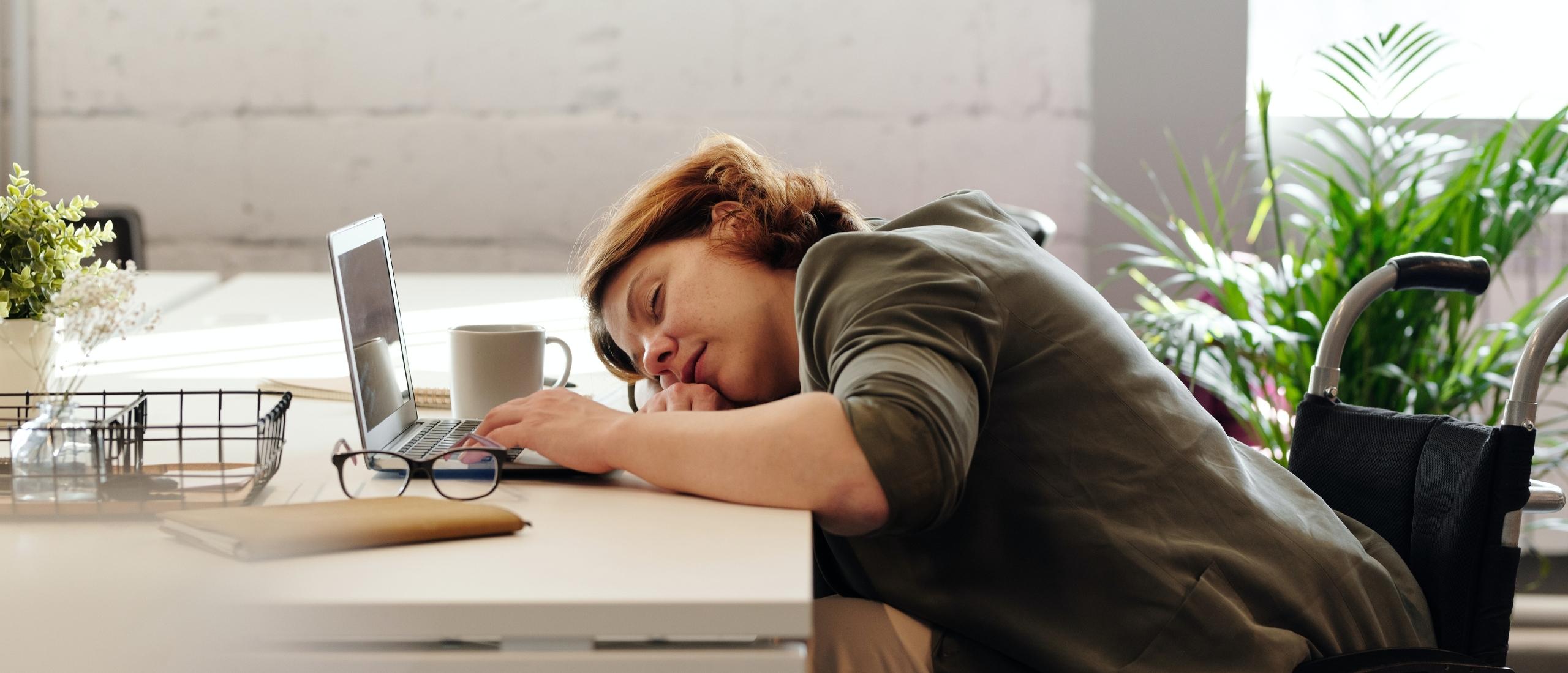 Schermgebruik en slaapgebrek