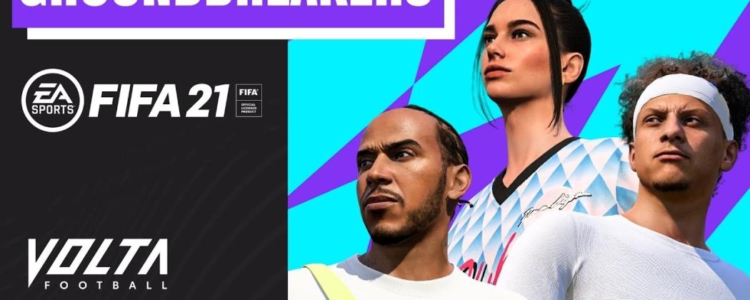 Speel met Hamilton op FIFA 21