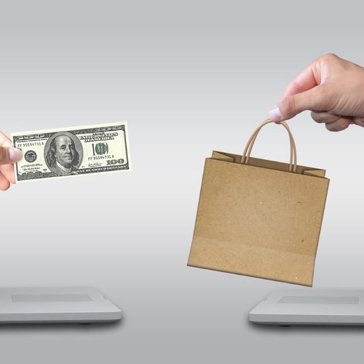 Geld uitgeven uitgavepatroon dochter budgetcoach financieel onafhankelijk online shoppen