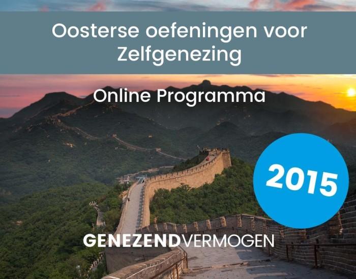 Zhineng Online, oosterse oefeningen voor zelfgenezing door Henk Fransen