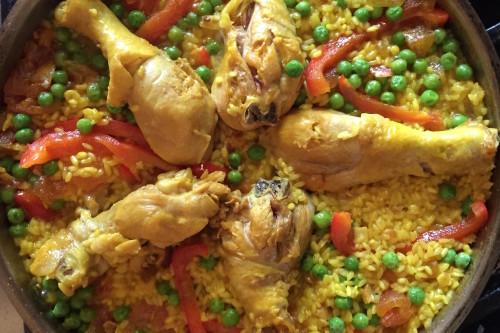 Spaanse Paella recept