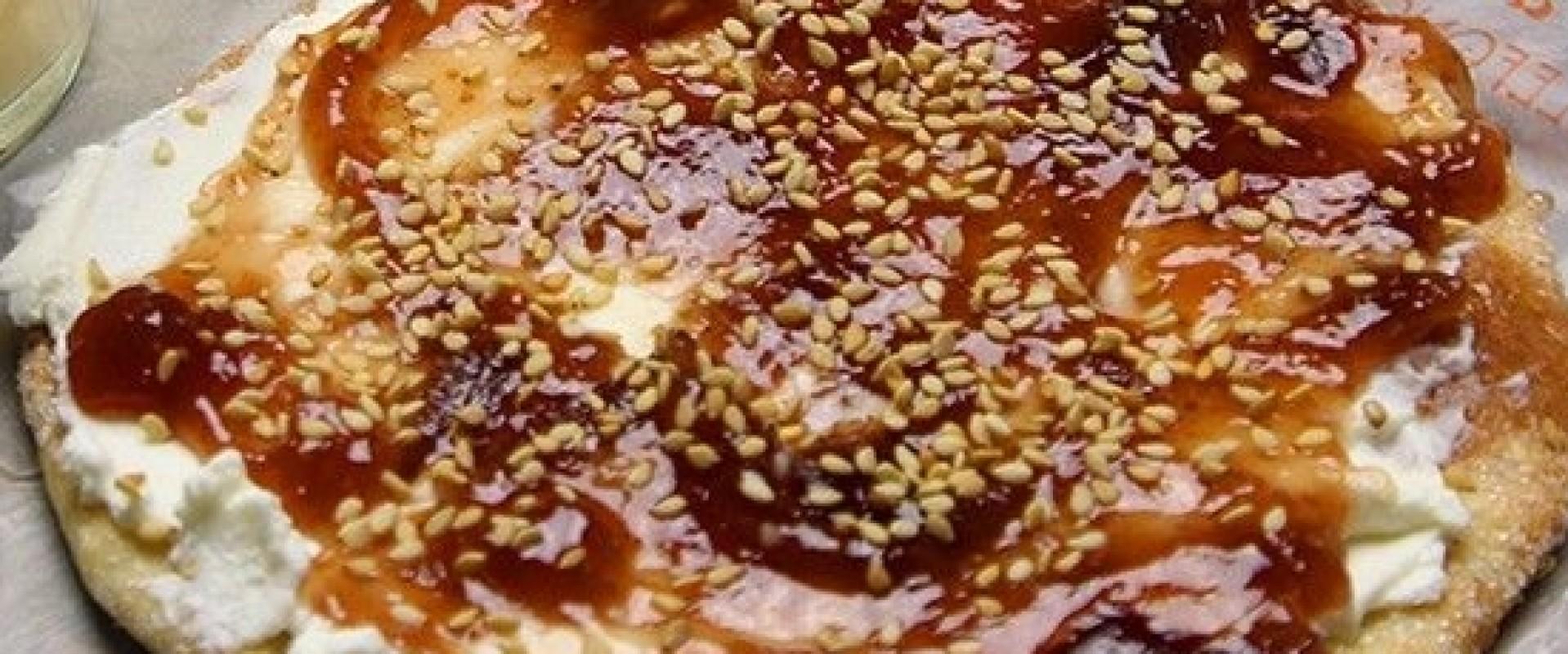 Ines Rosales Sinaasappel koek met kwark en vijgenjam