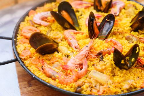 recepten Spaanse paella