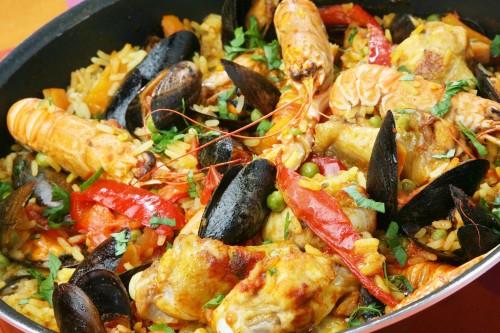 spaanse paella recepten