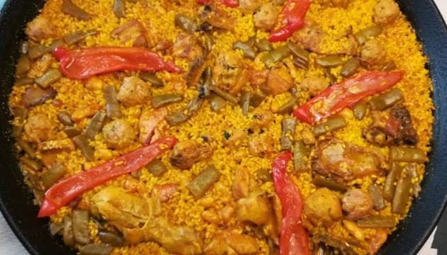 paella valenciana recept