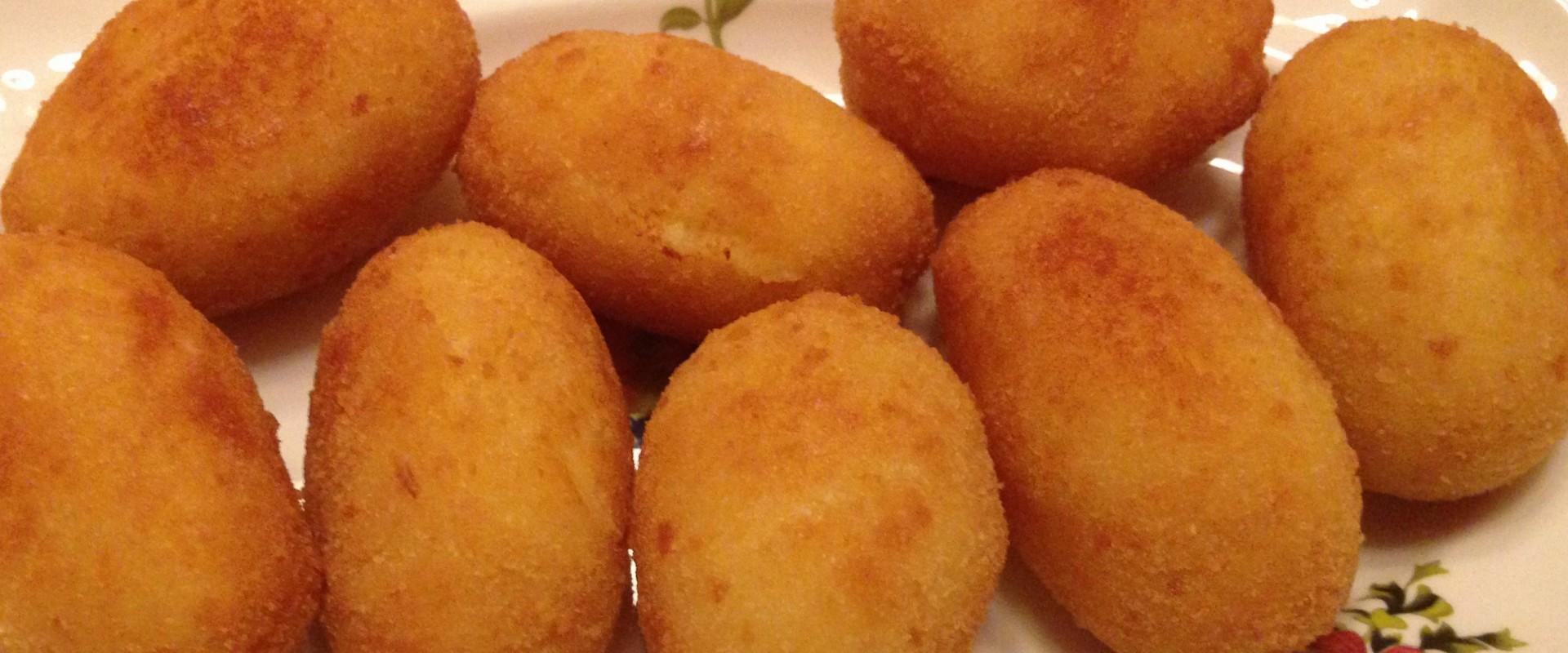Spaanse Hamkroketten (croquetas de jamón)