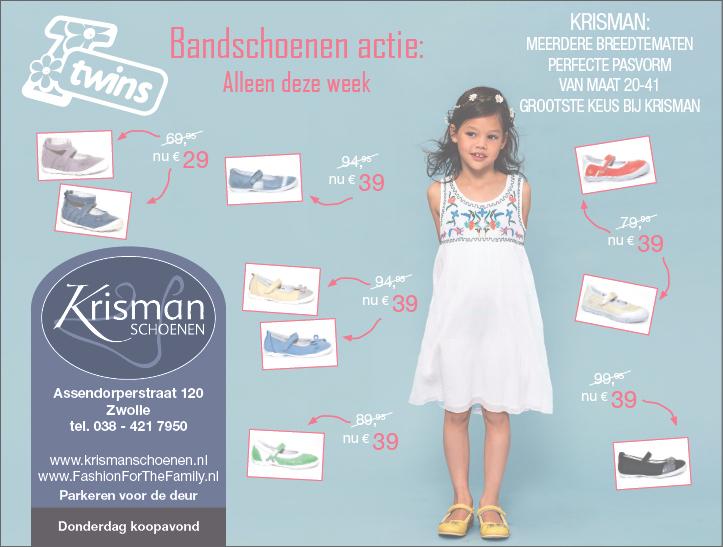 Advertentie Krisman schoenen twins