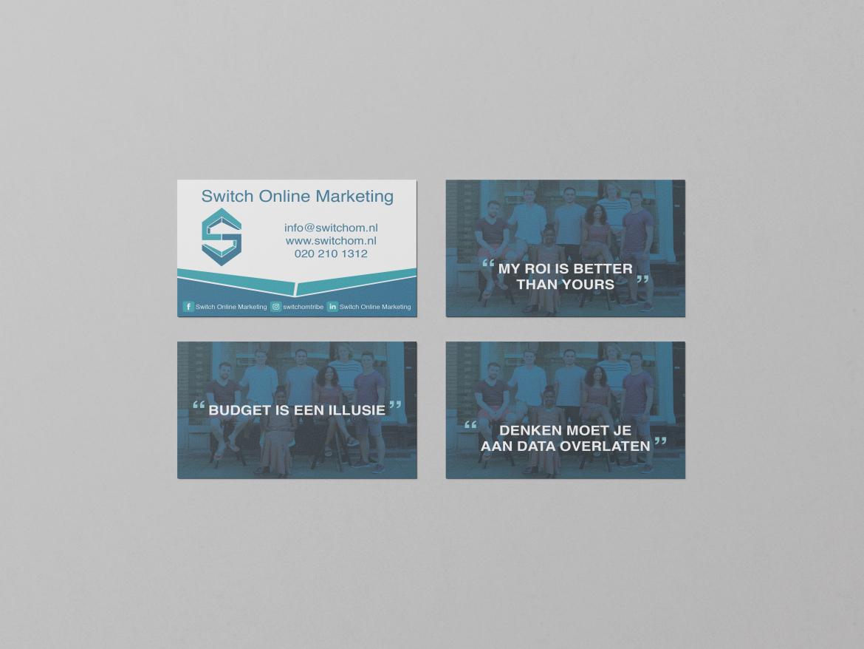 Visitekaartjes Switch Online Marketing