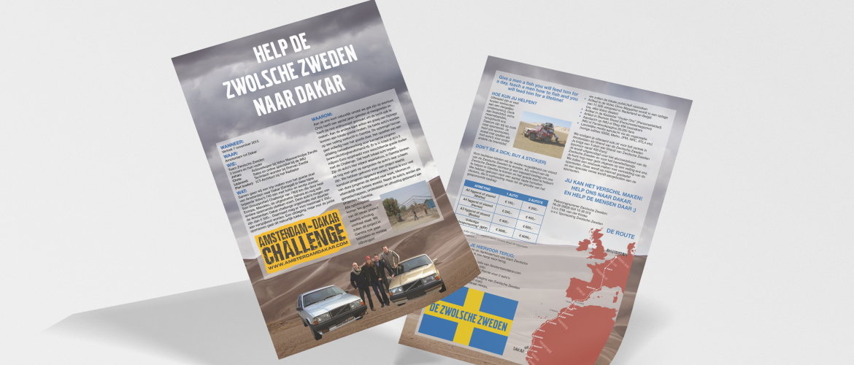 Sponsorfolder De Zwolsche Zweden