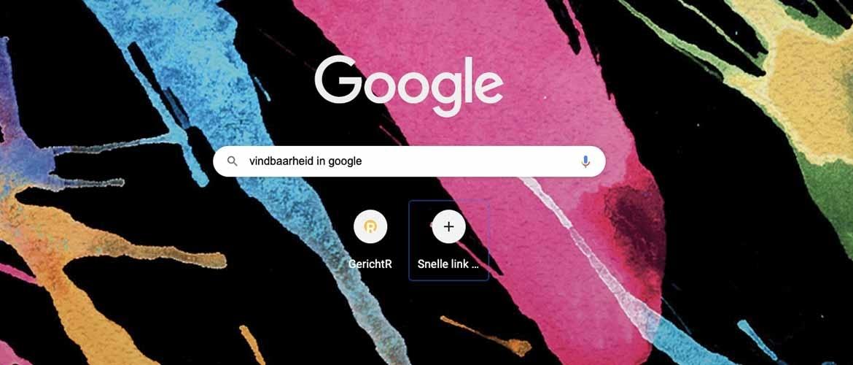 Hoe zorg je voor vindbaarheid in Google?