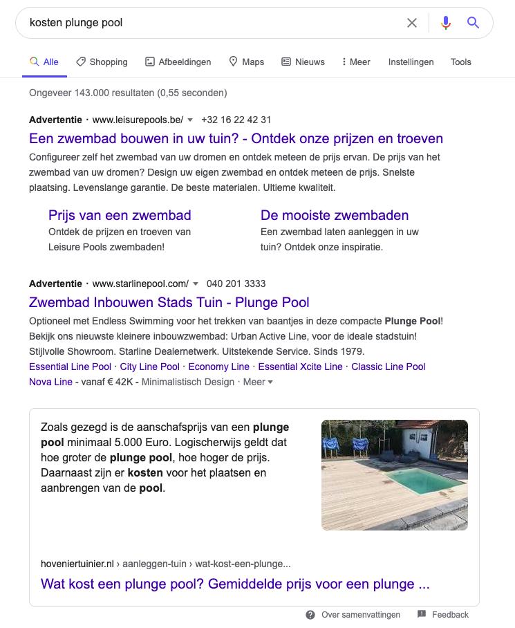 goede vindbaarheid in Google (Hoogeveen)