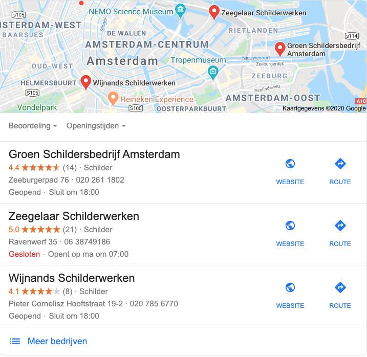 Lokaal vindbaar worden met Google Mijn Bedrijf