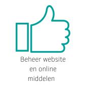 Beheer website en online kanalen