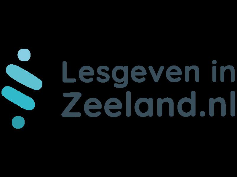 Het logo van Lesgeven in Zeeland,