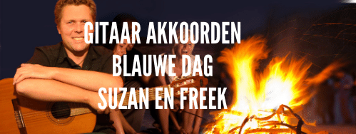 Akkoorden Blauwe Dag van Suzan en Freek op gitaar mee leren spelen (video)