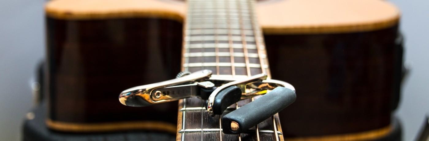 Capo voor gitaar