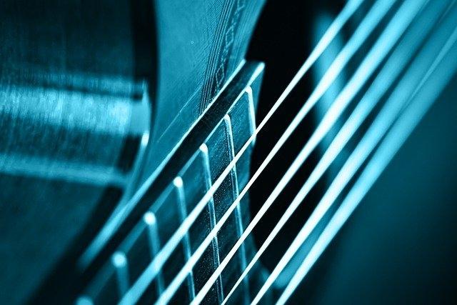 Verschillende gitaar snaren