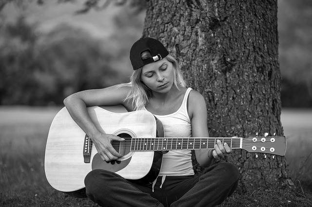 gitaar spelen in coronatijd