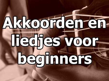 akkoorden en liedjes voor beginners gitaarcursus