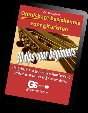 basiskennis voor gitaar PDF eBoek voorblad