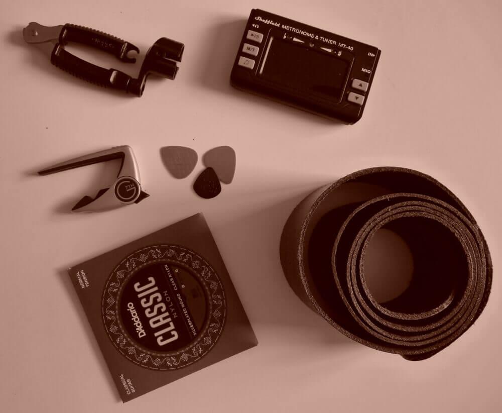 accessoires voor gitaar