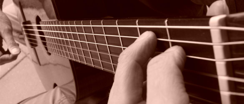Blues gitaar thema met dubbele snaren (voor beginners)