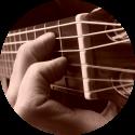 gitaarakkoord e-majeur foto