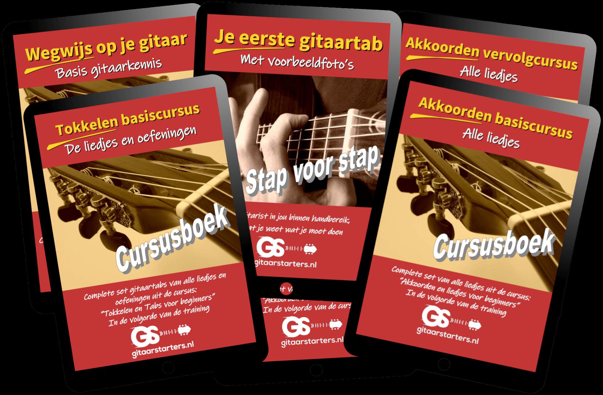 gitaarles cursusboeken