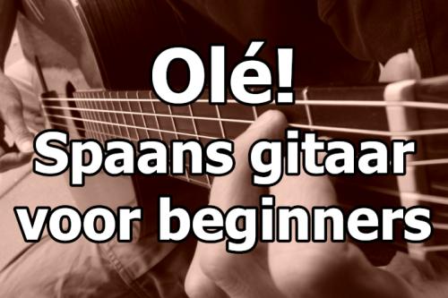 Spaans gitaarles voor beginners cursus