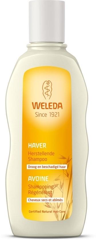 BPA vrij leven met een natuurlijke en herstellende shampoo van Weleda