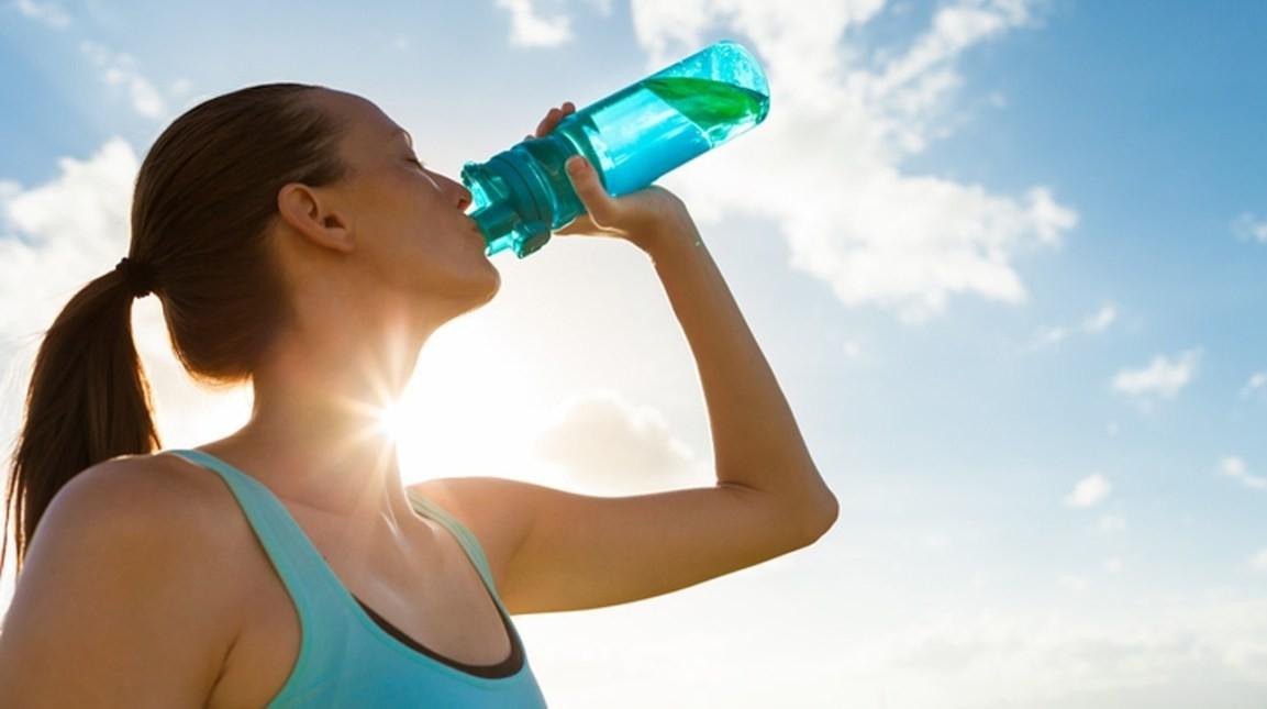 BPA vrij leven met een waterfles