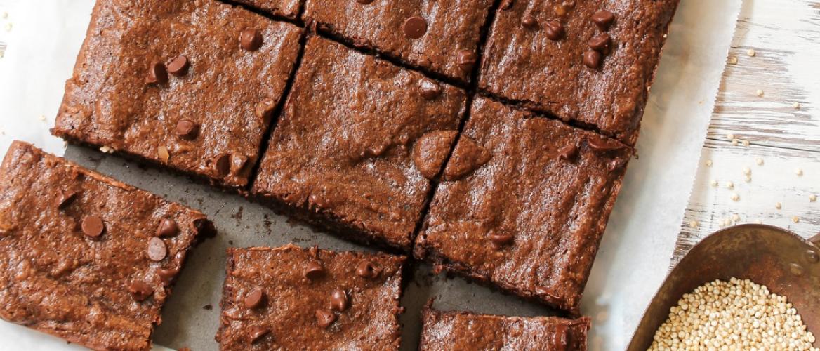 Receptuur: Proteïne brownies zonder bloem