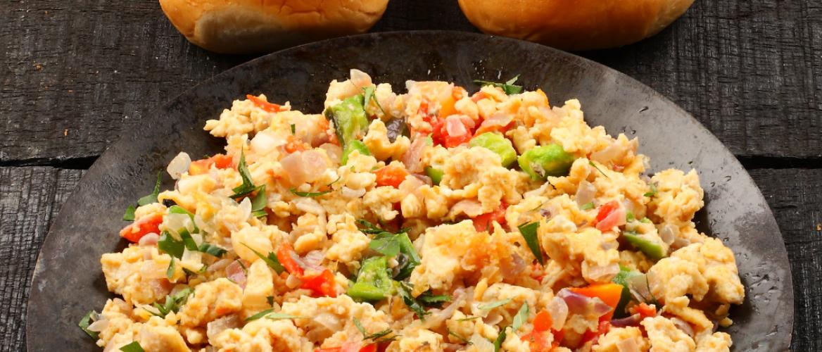 Receptuur: Gekruide roereieren als ontbijt om de dag goed te starten!