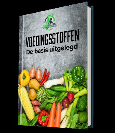 Ebook van goedlichaam over alle voedingsstoffen die het menselijk lichaam nodig heeft om te functioneren.